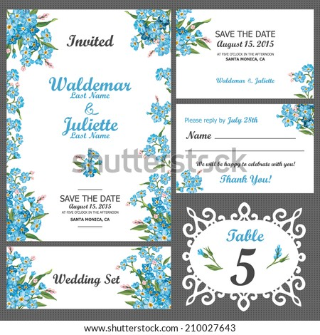 invited card