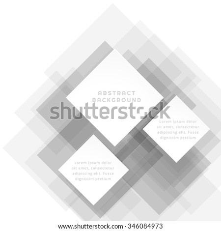 white gray abstract template
