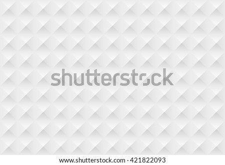 White seamless geometric pattern. Vector background