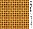 wicker basket weaving pattern seamless texture - stock photo