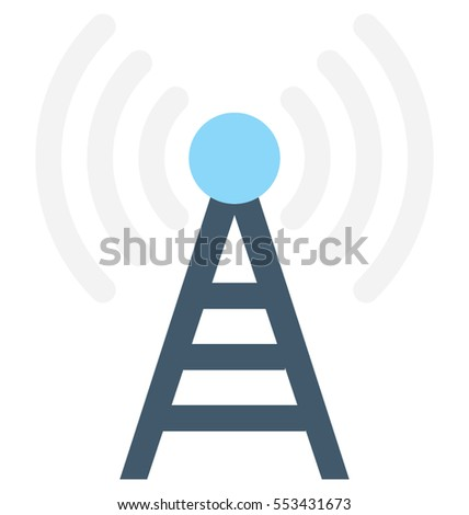 Wifi Tower Vector Icon