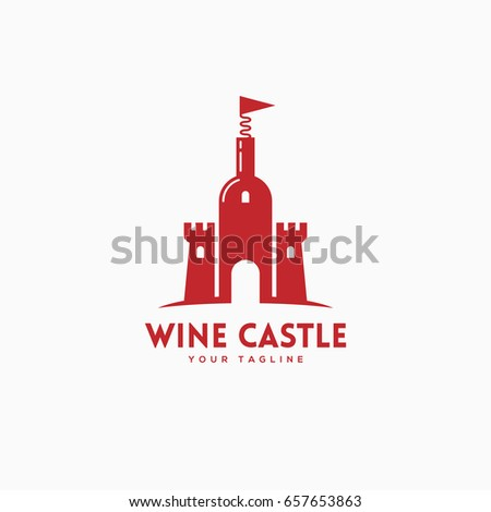 Love Wine Logo Template Design Vector Stock Vector 548534602