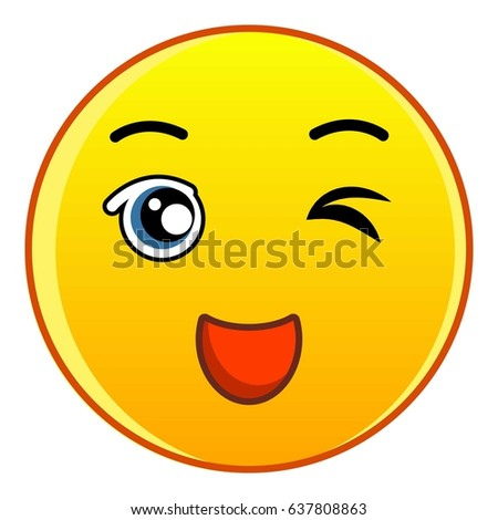 Phew Smiley Face