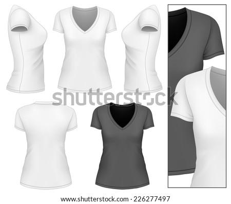 Black White Tshirt Baseball Cap Set Stock Vector 358060712