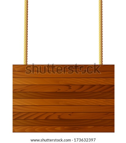 wooden brown texture, background for a design,  vector  illustration