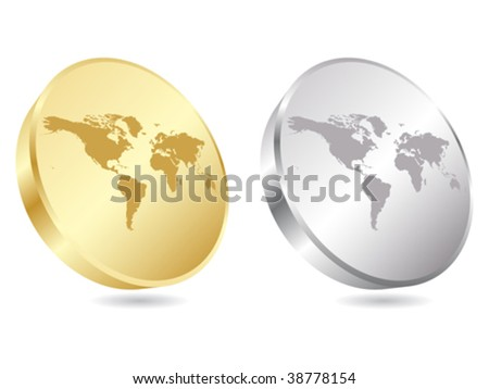 world map icon vector illustration