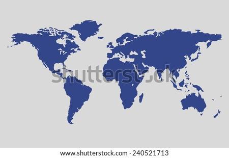 World Map Wallpaper Earth Globe Earth Stock Vector - World map glob
