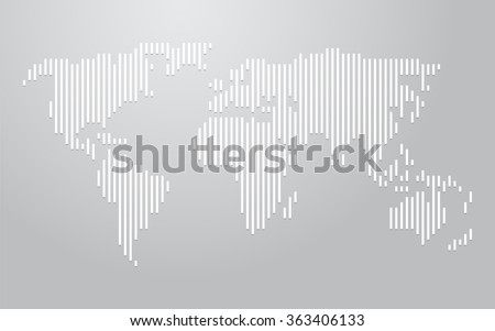 Abstract world map lines world stripes vectores en stock 637186999 world map vertical lines gumiabroncs Image collections