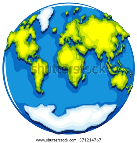 Globe india view topographic style stock illustration 27626620 worldmap on round format illustration gumiabroncs Gallery