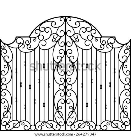 [Image: stock-vector-wrought-iron-gate-door-fence-264279347.jpg]
