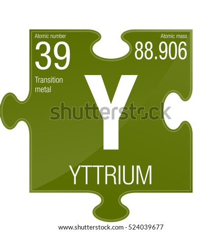 Yttrium symbol on chemical flask element stock vector 742590130 yttrium symbol element number 39 of the periodic table of the elements chemistry urtaz Images