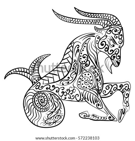 capricorn coloring pages capricorn coloring pages coloring pages