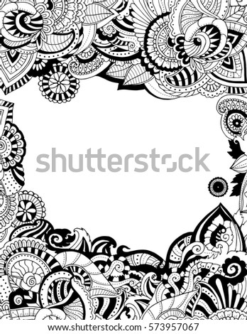 88 Coloring Page Of Border
