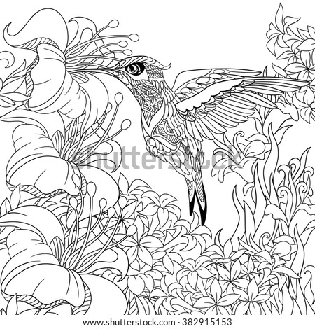 Detailed animal coloring pages for adults