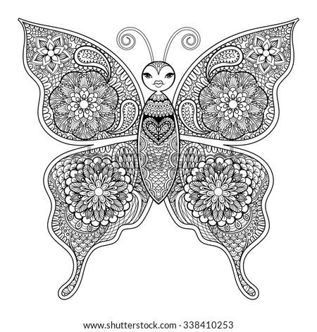 Hand Drawn Engraving Sketch Scarab Beetle Stock Vector