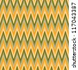 Zig-zag background. Seamless pattern. Vector illustration - stock vector